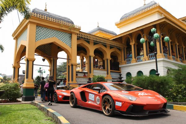 Lamborghini Medan BullRun 2015. Photo by Ahmad Zamroni